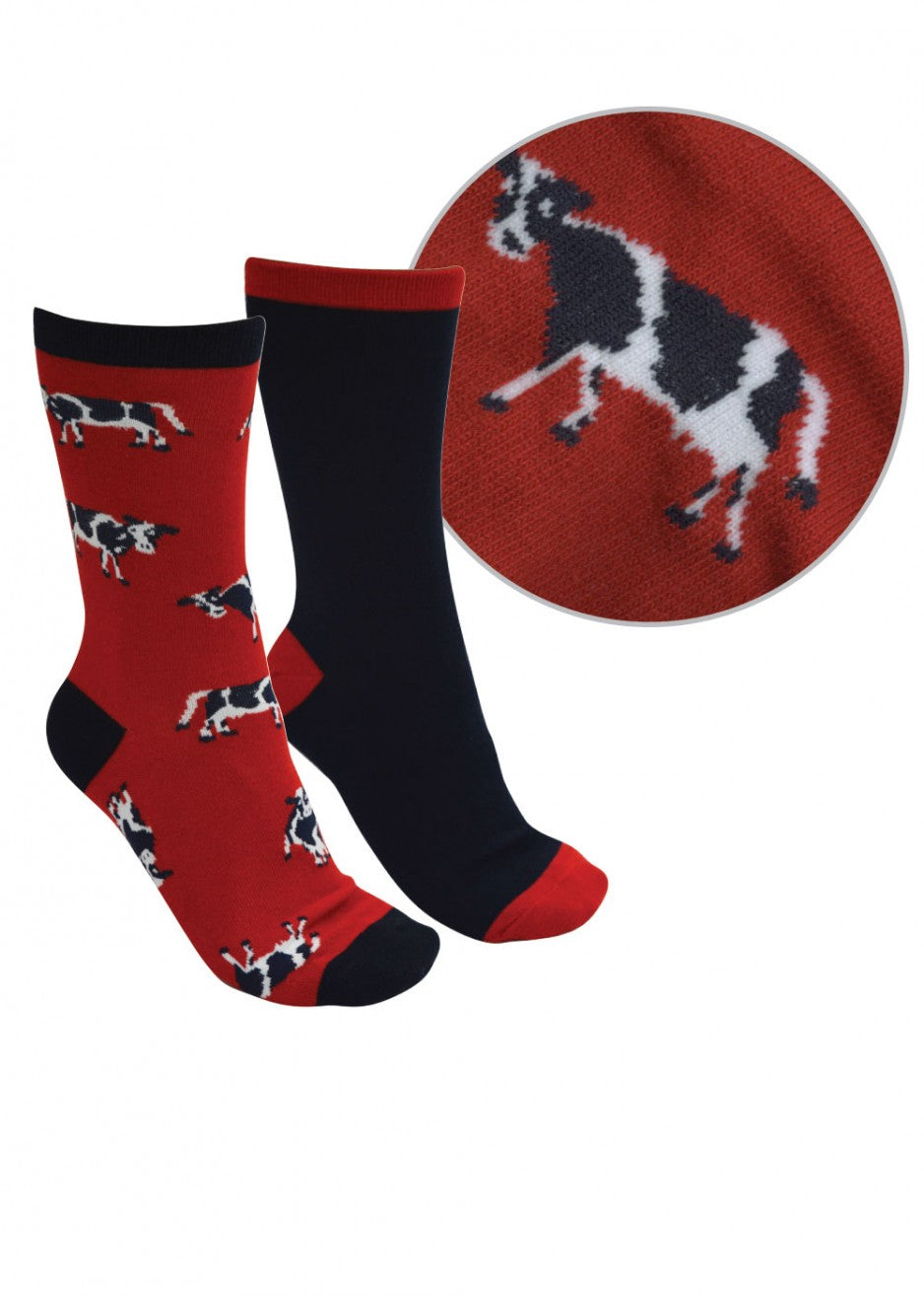 Thomas Cook Kids FarmYard Twin Pack Socks