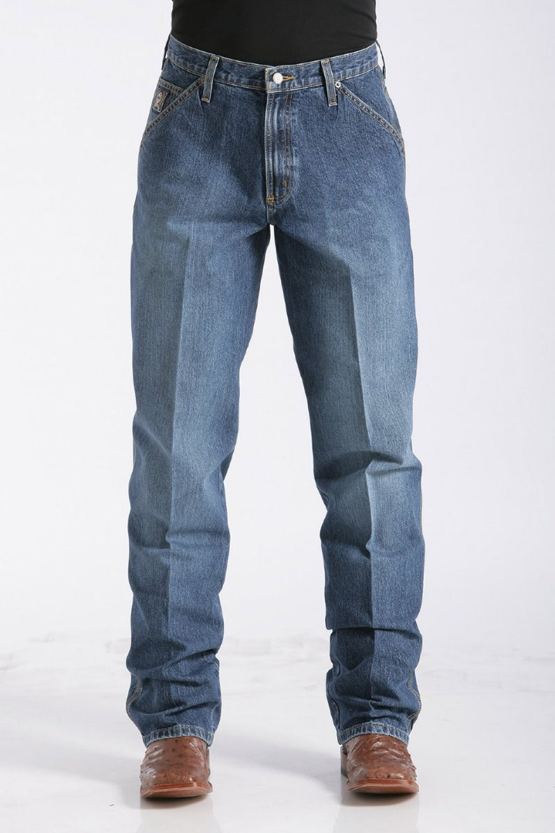 Cinch Mens Blue Label Loose Fit Carpenter Jean