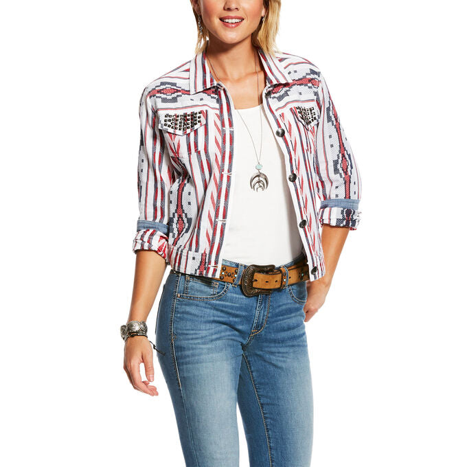 Ariat Womens Aztec Shucker Jacket