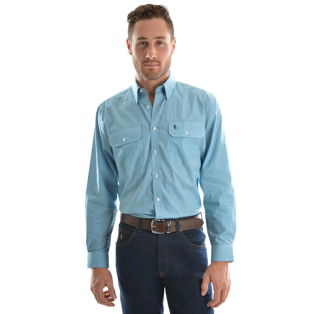 Thomas Cook Mens Livingstone Long Sleeve Shirt