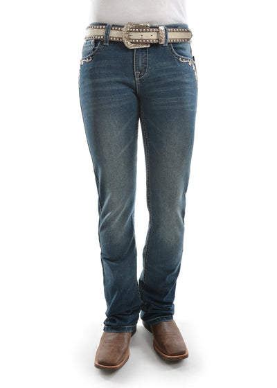 Pure Western Womens Carolina Relaxed Rider Jean PCP2210219