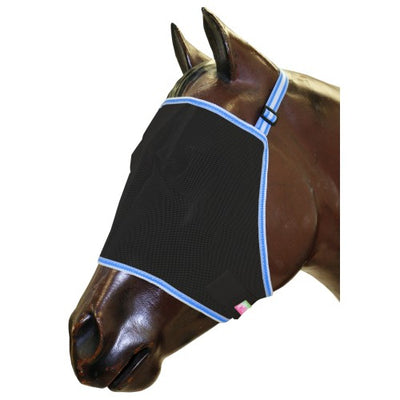 Horse Fly Mask Black Mesh BAMBINO