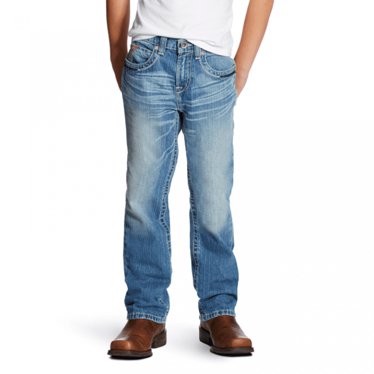 Ariat Boys B4 Swerve Relaxed Fit Jean 10019526