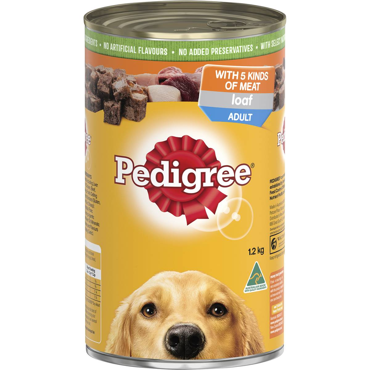 Pal Pedigree Dog Cans 1.2kg x 12