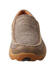 Twisted X Mens Driving Moc Dust Slip On Boot