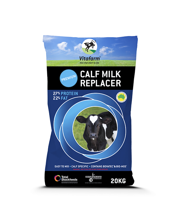 Vitafarm Premium Calf Milk Replacer 20kg Blue