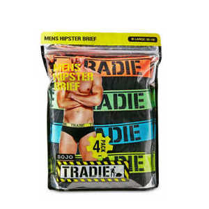 Tradie Mens 4Pk Brief