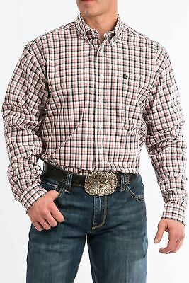 Cinch Mens Jeremy Check Long Sleeve Shirt
