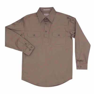Just Country Boys Lachlan 1/2 Button Workshirt