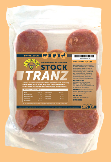 Olssons Cattle Tranz 40gm 20pk