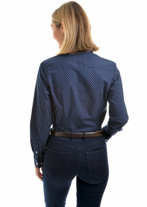 Thomas Cook Womens Gabrielle Print Long Sleeve Shirt