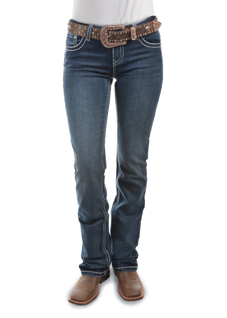 Pure Western Womens Dakota Relaxed Rider Jean PCP2210129