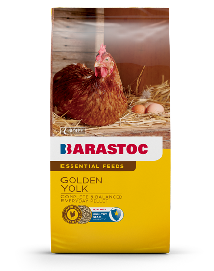 Barastoc Chicken Layer Golden Yolk Pellets 20kg