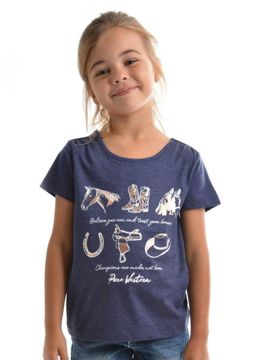 Pure Western Girls Luna Tee Shirt