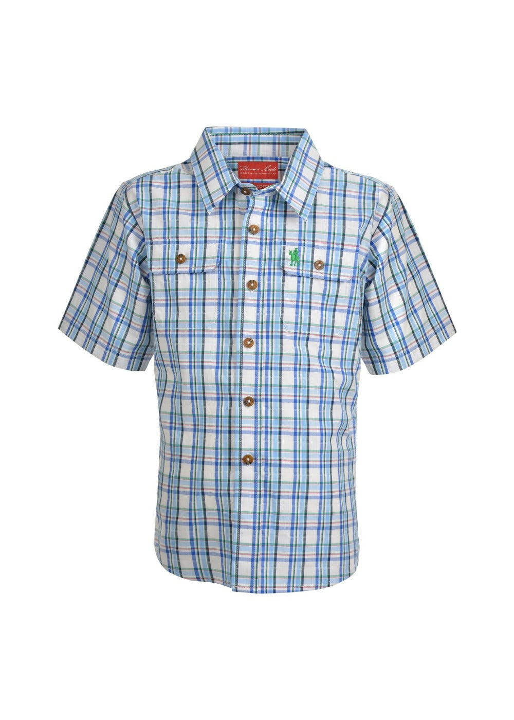 Thomas Cook Boys Dodge Short Sleeve Shirt