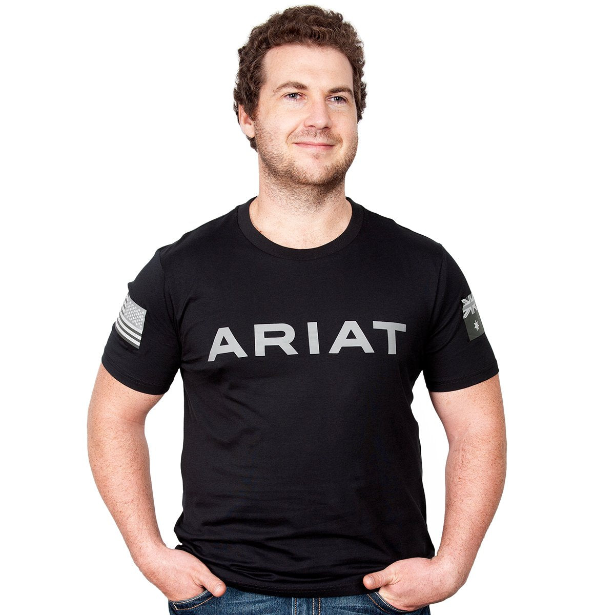 Ariat Mens Partiot Tee
