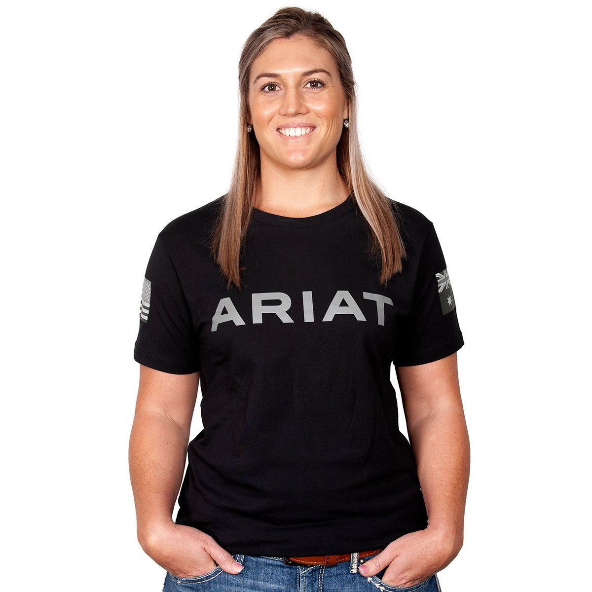 Ariat Womens Partiot Tee