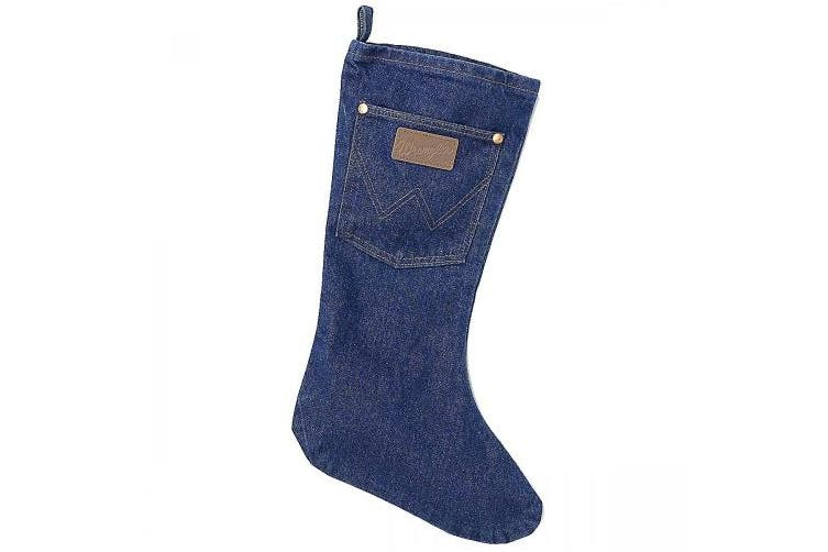 Wrangler Denim Christmas Stocking