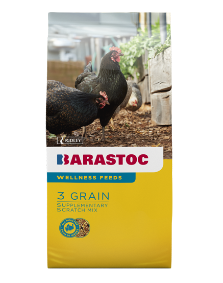 Barastoc Chicken 3 Grain Scratch Mix 20kg