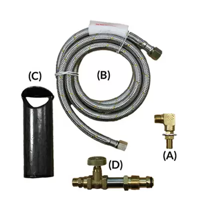 Branding Furnace Burner Kit Complete A1073