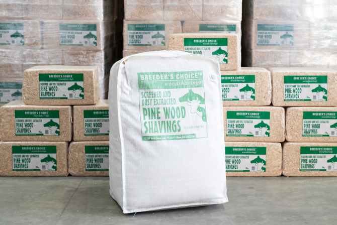 Breeders Choice Wood Shavings 14kg