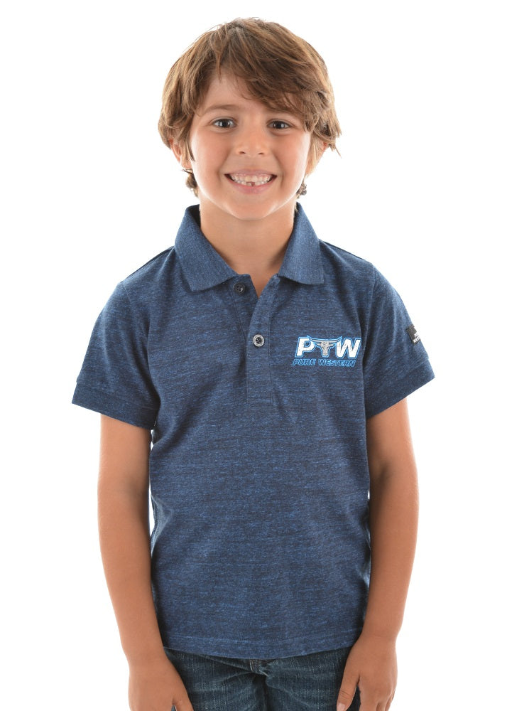 Pure Western Boys Bryson Polo