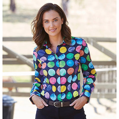Thomas Cook Womens Albury Print Long Sleeve Shirt