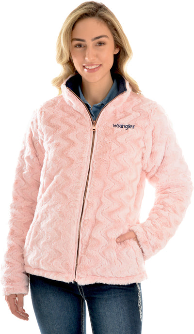 Wrangler Womens Amy Reversible Quilted Jacket