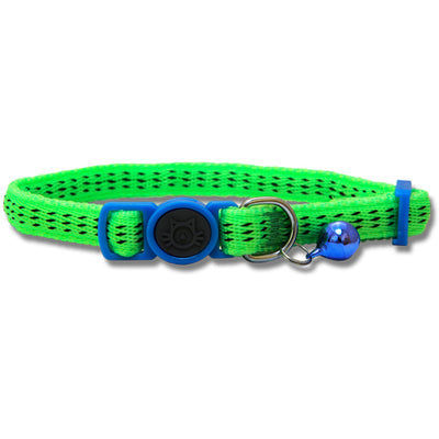 Cat Collar Nylon with Safety Buckle 19-31cm