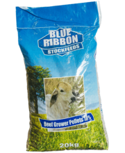 Blue Ribbon Beef Grower Pellets 18% 20kg