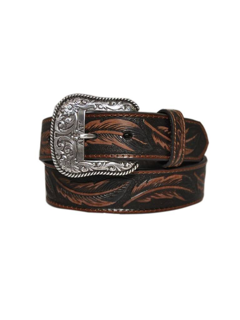 Ariat Unisex Feather Pattern Belt