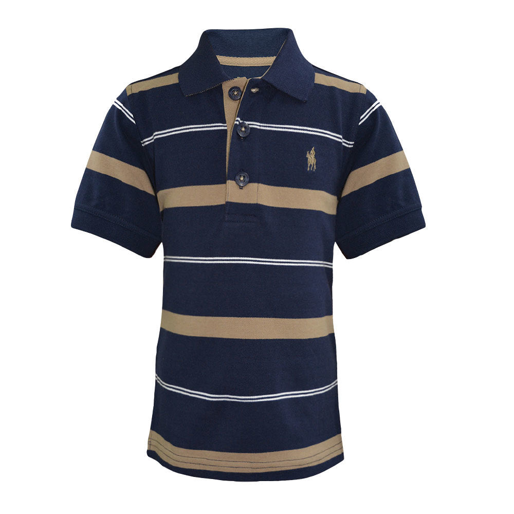Thomas Cook Boys Jordan Stripe Polo