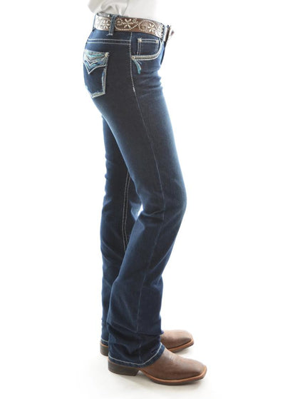 Pure Western Womens Alice Relaxed Rider Jean