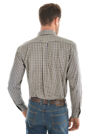Thomas Cook Mens Dobbs Check Long Sleeve Shirt