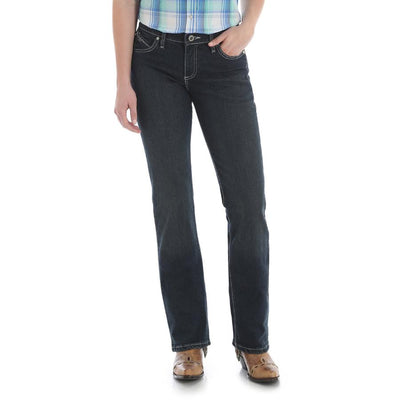Wrangler Womens QBaby Ultimate Riding Jean WRQ20AU