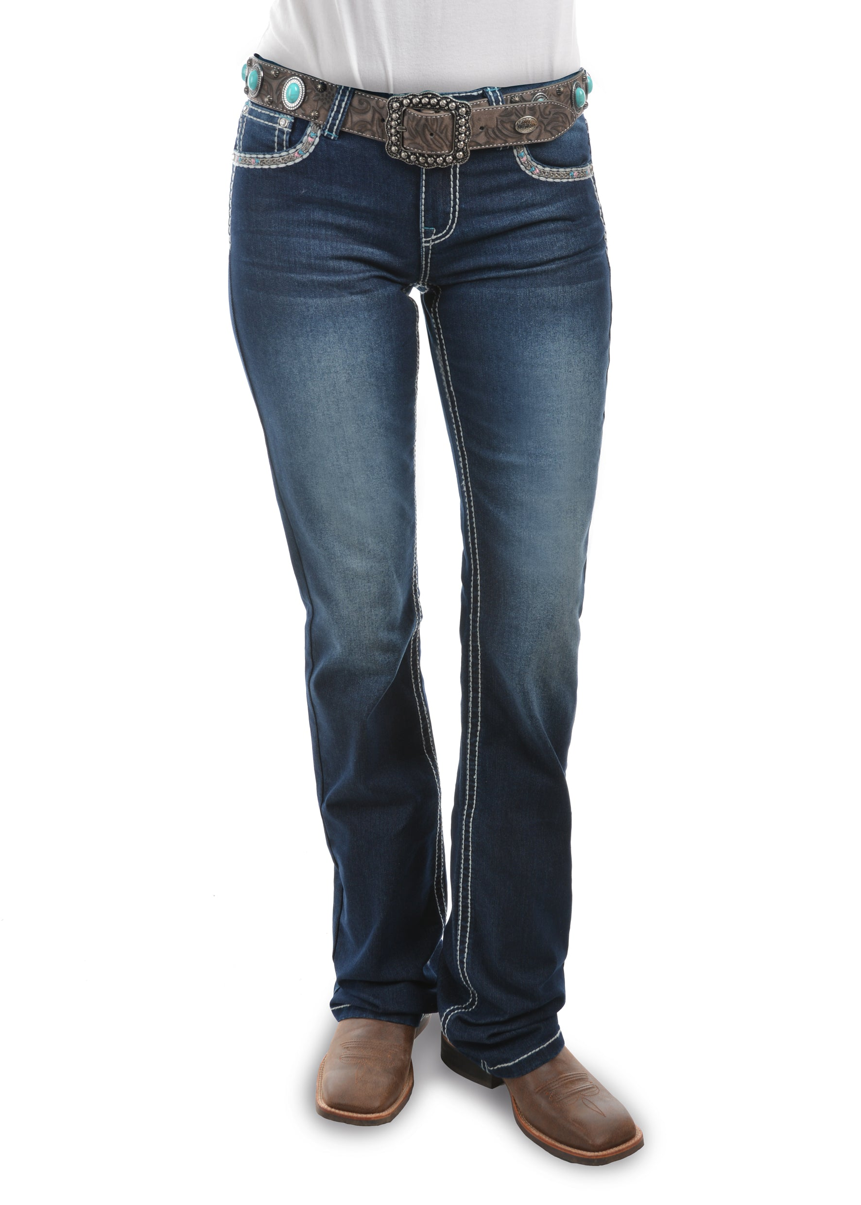 Pure Western Womens Indiana Relaxed Rider Jean PCP2210155