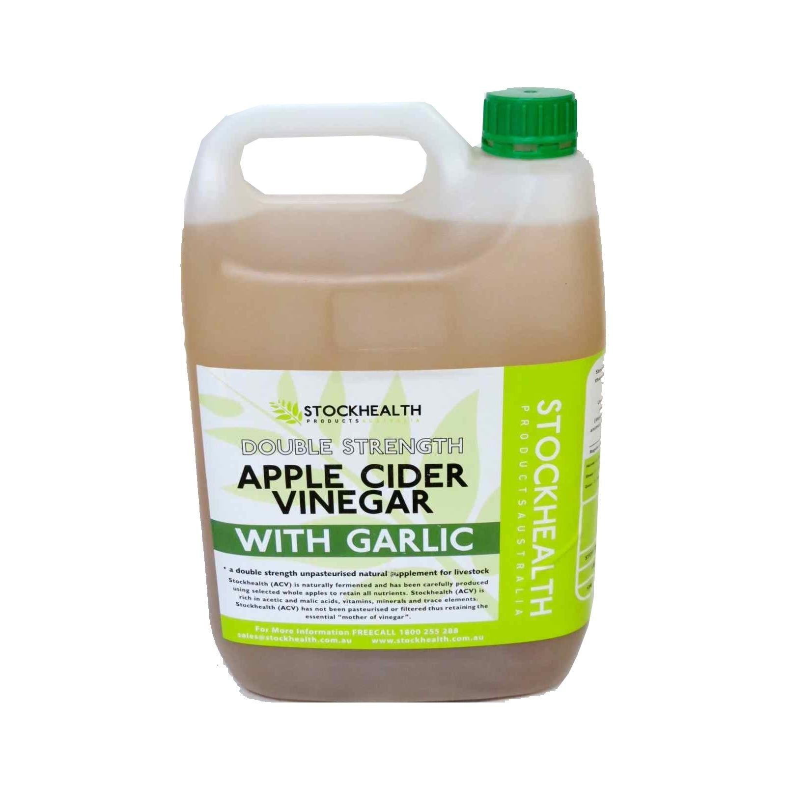 Apple Cider Vinegar with Garlic - Double Strength 2L