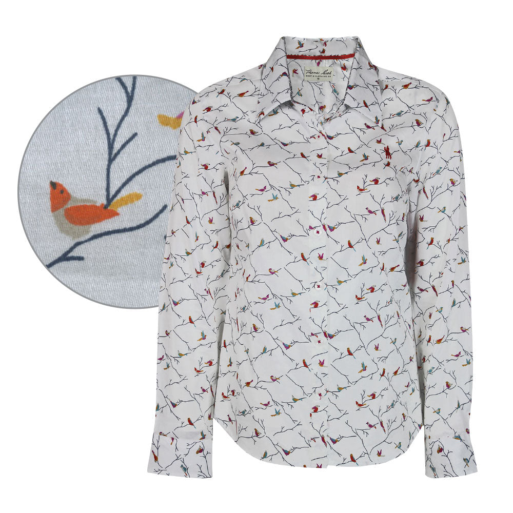 Thomas Cook Womens Julie Print Long Sleeve Shirt