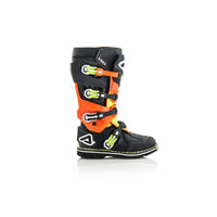X-Rock Stivale - Black/Orange