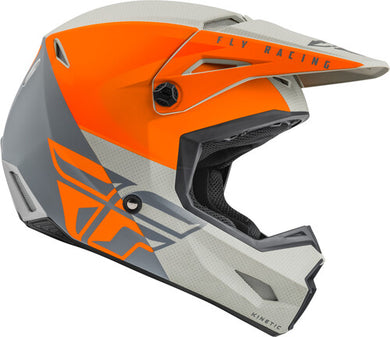 2021 Youth Kinetic Straight Edge - Orange/Grey