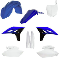Yamaha Full Plastic Kit - Blue/White