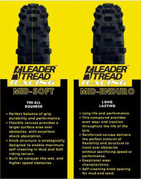 140/80-18 Leader Tread - EMD Racing Online