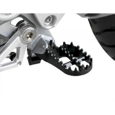 BMW R1200GS Black Wide Foot Pegs - EMD Racing Online