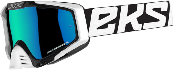 Outrigger Black/ White/blue Blue Mirror - EMD Racing Online