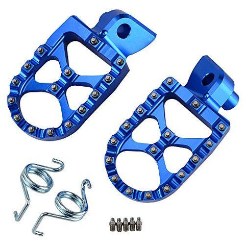 Blue Aluminum Foot Pegs