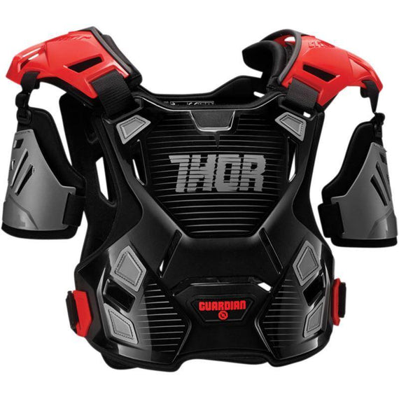 Guardian Chest Protector Black and Red - EMD Racing Online