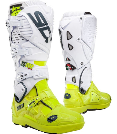 Crossfire 3 Series - White/Yellow Fluo