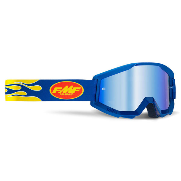 2021 Powercore - Flame Navy - Blue Mirror Lens