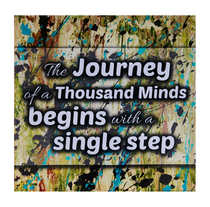 Inspirational Canvas Wall Art: The Journey...