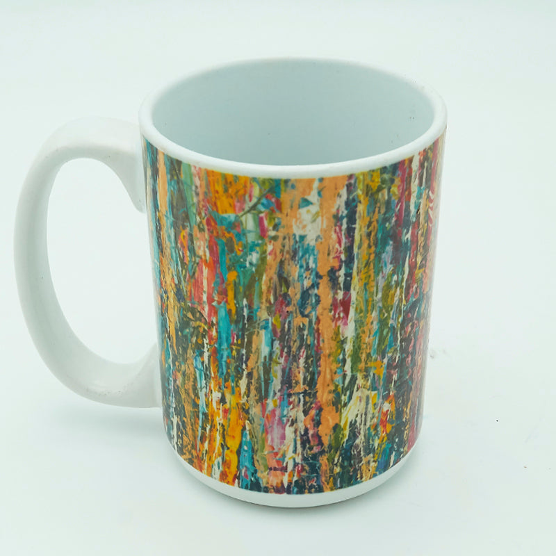 Blue Waterfall 11 ounce Mug
